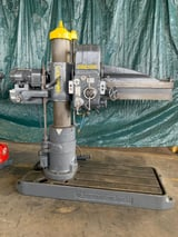"""Image for 4' -11"""" Carlton, radial arm drill, 12-speed, 1500 RPM, #10999"""