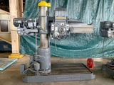 """Image for 4' -11"""" Carlton #1A, radial arm drill, 24"""" x 18"""" box table, 5 HP, 80-2000 RPM, 54"""" x 36"""" working surface of base, 4MT, 2-1/2"""" dia. spindle, 26""""-54"""" spindle to base, #10998"""
