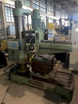 """Image for 4' -11"""" Foradia #GR-50/1200, radial drill, #4MT, power elevation, man. clamp, 1975, #11158"""