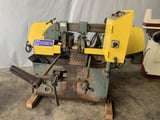 """Image for 10"""" X 10"""" Cosen #AH250, automatic horizontal bandsaw, 1"""" blade, 49-330 FPM, 2 HP, vise, front length gauge, #11086"""