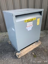 Image for 112.5 KVA 480 Primary, 208Y/120 Secondary, Square D transformer, #11030