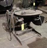"Image for 1000 lb. Ransome #10P, welding positioner, 30"" tilt table, powered rotation, #10915"