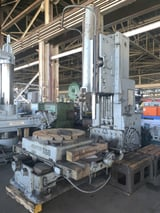 """Image for 36"""" Rockford, hydraulic vertical slotter, 42"""" rotary table on saddle, #11230"""