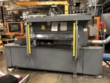 """Image for 48"""" Metlsaw #CS-4, fully automatic non-ferrous, 96"""" BG, A-B Panelview 1000 controller, 2003"""
