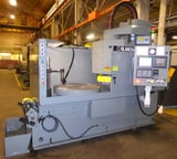 """Image for Blanchard #26HACD-48, rotary surface grinder, 48"""" chuck, AB PLC, 100 HP,54"""" swing, (6) 6 -33 RPM, vertical spindle, remanufactured with warranty, 1966, #16997"""