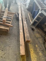 """Image for Shear Blades, 12' length, 3/8"""" thickness, new, #11524"""