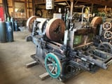 """Image for 2-19/32"""" -4.75"""" Harley, receding die head pipe threader, 3-jaw, power rapid traverse to carriage, #11873"""