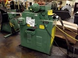 """Image for 18"""" x .125"""" Littell #418-7PDL, powered straightener, 7 rolls, variable speed drive, edge guides"""