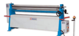 "Image for 5' x 5"" Knuth #KRM-15/4.0, 3-Roll Plate Roll, Manual Operation, Conical Bending Device, Asymmetrical Mounted Rolls"