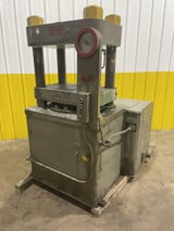 """Image for 250 Ton, Watson Stillman #250H, 4-post, hydraulic up-acting, 16"""" ram, 20"""" x32"""" bed, #11480"""