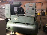 Image for 165 cfm, 125 psi, Joy Twistair #TA-040TAN2A, rotary screw air compressor, 40 HP, rebuilt, #16991