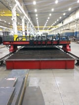 Image for CSI #Kodiak, CNC cutting system, 10' x 25', 6 Oxy fuel torches, Burny Fantom Control, 2007, #10709