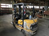 """Image for 5000 lb. Caterpillar #2P5000, Propane Forklift, 130"""" max height, hard tire, side shift"""