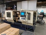"Image for 26"" x 80"" Willis #ENC2680, CNC flatbed lathe, 18"" swing over cross slide, Anilam 4200T CNC control, coolant system, 2007"