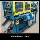 Image for Press Room Equipment Notching Unit #S15-6X52-305A, traveling hydraulic press for pre-notch