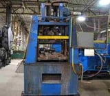 """Image for 20 Ton, Tishken #ACO-20-LP, 4-post cut-off press, 1 -1/2"""" stroke, 13-1/2"""" open heightMac air valve, push buttons, die return cylinder"""