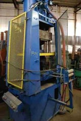 """Image for 15 Ton, Tishken #ACO-15, 4-post air cut-off press, 2 stroke, 1-3/4"""" post diameter, 12"""" between posts, 7"""" cut width, push buttons, 2 air cylinders"""