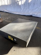 """Image for 24"""" x 48"""" x 3"""" Black Granite Surface Plate w/ stand"""