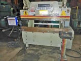 """Image for 60 Ton, Accurpress #7606, hydraulic brake, 6' overall, 55"""" between housing, Automec CNC 150 Autogauge, 1992"""