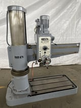 """Image for 4' -12"""" Ooya #RE-1225M, radial arm drill, 36"""" x 48"""" T-slotted table, 5 HP, coolant, 10"""" spindle diameter"""
