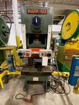"Image for 50 Ton, Heller Sutherland #Mark-50, 4.3"" stroke, 10.6"" die height, 2.3"" adj., 33"" x17.3"" bed, 50-85 SPM variable, 1979"