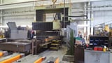 "Image for Homma #HB-22/40-PM10, gantry mill, 86"" x 160"" table, CAT 50, Fanuc 10m Model A, Pendant Switch Box, 1988"
