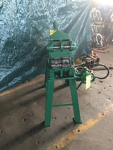 """Image for Art Iron, Air Notching Machine, Dual Station, 2"""" Left Station, 1-1/4"""" Right Station, Air Operated"""