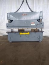 """Image for 55 Ton, Pacific #J55-8, hydraulic press brake, 8' overall, 78"""" between housing, 6"""" stroke, S/N 6919"""