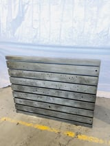 """Image for 48"""" x 60"""" x 26"""" T-slotted angle plate, excellent, #0506920"""