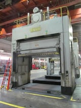 """Image for 50 Ton, Verson #D2-50-132-84DS, Hydraulic Spotting Press, 48"""" stroke, 36"""" Shut Height, 132"""" x 84"""" bed, (2 available)"""