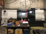 """Image for Samsung #SL-40/1500, 26.8"""" swing, 18"""" chuck, 5.2"""" bar, 30 HP, 2-Axis, Fanuc 0i-TD, programmable tailstock, 2014"""