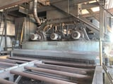 Image for Pangborn Rotoblast #ES-1923, 12' Wide, 6 shot wheels, top & bottom plate blast cleaning system, #13319