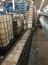 """Image for 16"""" wide x 12' long, Livonia #C-18, magnetic scrap conveyor"""