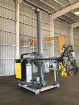 Image for Esab #CaB-300M-4, column & book weld manipulator, 27.5 IPM, 300mm boom throat, 2019