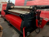 """Image for 120"""" x 1/2"""" Akyapak #AHS-30/10, 4-Roll, hydraulic, 11.8"""" roll diameter, 15 HP, others sizes avail, new"""