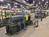 Image for 50000 lb. Vaughn, 38' length, single chain / double pull draw bench, 40 FPM, #13578
