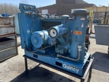 Image for Quincy #9489, air compressor, 440 V., S/N #OSB50ANA22M, #13371