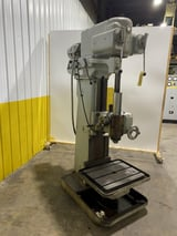 "Image for 24"" Cleereman, box column, single spindle drill, 12-1/2 spindle center, 19"" x 24"" work table, 12"" vertical travel, 12"" power feed spindle travel, 1500 RPM"