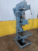 "Image for 25"" Cleereman #25C, power feed, single spindle, box column drill, #4MT, power down feed, #13169"