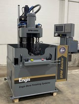 """Image for Engis #EM8601M, 6 staion single pass, 8-pos rotary table, 18"""" hd stroke, Mits controller, 2001, #48637"""