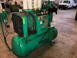 Image for 80 acfm, 130 psi, Sullivan Palatek #20DTWE-CDD, air compressor, 20 HP, 460 V., #17053