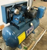 Image for 3/4 HP A.C.P. #C1S-0753HP1, air compressor, 3 cfm, 90 psi, 30 gallon horizontal tank, 1-phase
