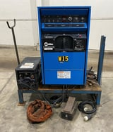 Image for Miller #Syncrowave-351 CC AC/DC, 350amp, tig, stick, Coolmate 3, foot pedal, torch, 1997, #50263