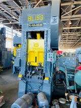 """Image for 100 Ton, Bliss #S1-100-24-30, straight side, 10"""" stroke, 22"""" Shut Height, 3"""" adjustment, 30 SPM, 32"""" F-B x 24"""" L-R bed, die clamping"""
