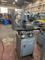 """Image for 6"""" x 12"""" Harig #Super-612,  hand feed surface grinder, 1.5 HP, 3450 RPM, permanent magnetic chuck, cabinet base, 1966, #10822"""