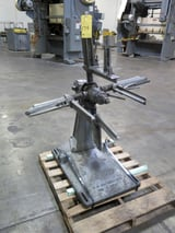 """Image for 1000 lb. Littell #10, non-motorized uncoiler, 14"""" width, 36"""" outside dimensions, 12""""-20"""" ID, #14047J"""