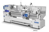"""Image for 18.5""""/27"""" x 60"""" Sharp #1860LV, variable speed gap bed engine lathe, 3-Jaw 10"""" chk, Steady Rest, Follow Rest"""