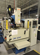 """Image for Chmer #CM434C CNC Ram EDM, 75 Amp Power Supply, 41.3"""" x 24.8"""" x 13.8"""" tank size, 15.7"""" x 11.8"""" x 13.8"""" travels, C-Axis, electrode changer, filtration, from Aerospace, extremely low hours, 2015"""