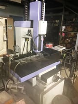 "Image for Top #TSH-5AA, Electrical Discharge Machine hole popper, 17.7"" x12.2"" work table, 3-Axis pulse scales & digital read out, 2006"