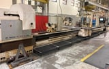 """Image for Tacchi #HD/1000-S, CNC lathe, 48"""" swing, 25"""" chuck, Siemens 840DI, 33"""" swing over cross slide, 516"""" centers, 4.7"""" Hole, Milling & Drilling, 1991, #50377"""